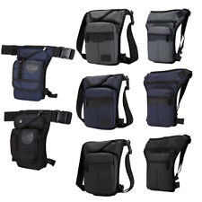 Men Tactical Drop Leg Bag Military Pack Hip Belt Waist Hiking Fanny Pouch Nylon