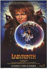 Labyrinth Movie POSTER 27 x 40, David Bowie, Jennifer Connelly, C, LICENSED NEW