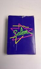 Salem Cigarette Vintage 1980s Playing Cards Full Deck in Box - Good Condition