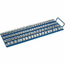 Draper 1/4 3/8 1/2 Socket Storage Retaining Bar Carrier Organiser Tray (07032)