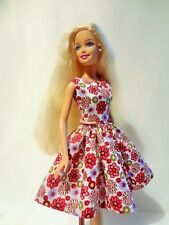 Hand-Made dress for Barbie doll - Barbie doll INCLUDED