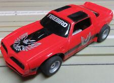 For H0 Slotcar Racing Model Railway Pontiac Firebird with Tyco Chassis