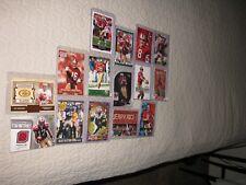 San Francisco 49ers 15 Card Lot(S Young, J Montana, J Rice, Watters & Williams).