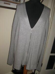 Yours Ladies Zip Up Cardigan Size 18