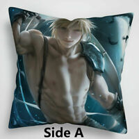 Final Fantasy VII -  Cloud Cushion Cover - New - Free UK Shipping