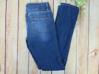Aeropostale Women's Bayla Skinny Blue Jeans Size 1/2 Stretch Medium Wash