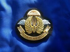 II Squadron RAF Regiment old design gold bullion blazer badge
