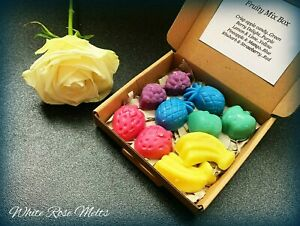 💖 FRUITY MIXED BOX Handmade Soy Wax Melts Vegan Friendly Gift for her 💖