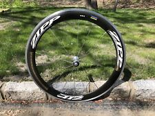 ZIPP 404 CARBON CLINCHER FRONT WHEEL ROAD TRIATHLON TRI TT
