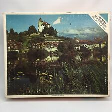 Vintage Whitman Werdenberg Switzerland 1000 piece jigsaw picture puzzle
