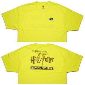 HANES Universal Studios Wizarding World Harry Potter PCL Construction Shirt XXL