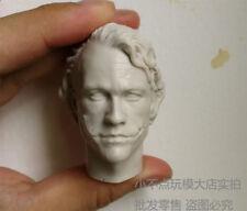Free Shipping 1/6 scale Custom Head Sculpt Creg 2.0 Joker Heath Ledger unpainted