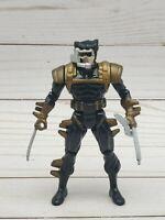 Vintage 1993 ToyBiz Marvel Uncanny X-Men Action Figure Wolverine with Weapons