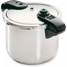 Presto 01370 8-Quart Stainless Steel Pressure Cooker Cook healthy and flavorful
