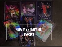 NBA BASKETBALL CARDS LOT MYSTERY HOT PACK🔥1-2 HITS A PACK REPACK