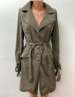MAX & CO by MAX MARA Gr.DE 40 Mantel Jacke Trenchcoat Mac Braun