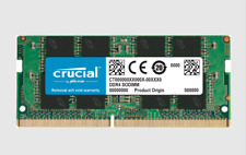Crucial 16GB DDR4 2400MHZ SODIMM Memory windows apple Mac Laptop Ram pc4 CL17