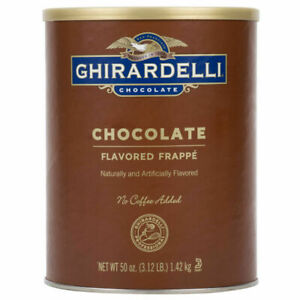 Ghirardelli 3.12 lb. chocolate Frappe Mix