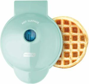 Dash DMW001AQ, Mini Waffle Maker Machine for Individuals, Paninis, Hash Browns,