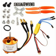 UK 342W 2200KV Brushless 2212-6 Electric Motor+30A ESC for RC Plane Helicopter