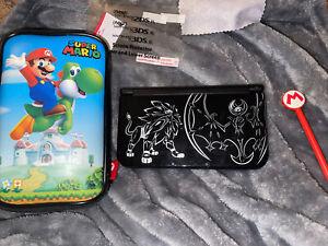 Nintendo New 3DS XL Console Pokemon Sun and Moon Solgaleo Lunala Black Edition