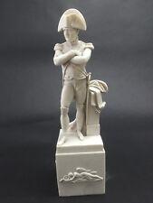 Marble Statue of Napoleon Bonaparte, Sculpture. Art, Gift, Ornament.