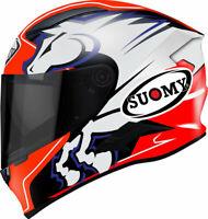 Casco integrale moto Suomy Speedstar Zerofour  fibra
