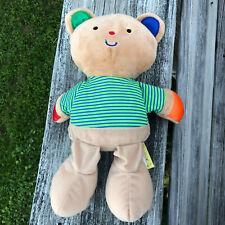"Melissa & Doug K's Kids Teddy Wear Bear Educational Toy Plush 12"", No Clothes"