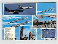 ITALIEN MK 1973 AVIATION AERO MILITARE KAMPFFLUGZEUGE MAXIMUM CARD MC d9336