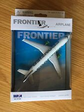 Frontier Airlines Airbus A320 Druckguss Metall Modell Hobel Spielzeug Gift USA