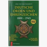 Deutsche Orden und Ehrenzeichen 1800-1945 Jörg Nimmergut - 21. Auflage 2017 OEK