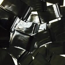 "ZIP LOCK OPAQUE BLACK Baggies 20 SIZE to Choose 1"" X 1"" ~ 4"" X 4"" MINI SMALL ZIP"