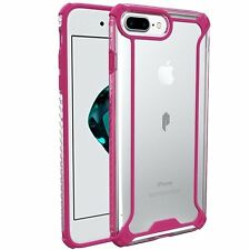 For Apple iPhone 7 Plus POETIC Affinity Series Protective Bumper Case Pink/Clear