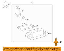 TOYOTA OEM License Lamps-Rear Lamps-License Lamp Clip 904670707122
