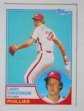Larry Christenson Phillies Topps #668 1982