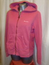 LOVELY Women's CHAMPION HERITAGE CLASSICS full zip pink hoodie size L great cond
