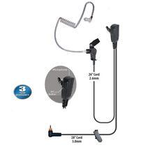 1-Pin Hotel Planner Single Muff Headset PTT for Motorola SL7590e SL7550e SL7550