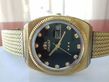 ORIENT STAR 3 GOLD VINTAGE(1971) AUTOMATIC WATCH YN904564 JAPAN RARE COLLECTORS