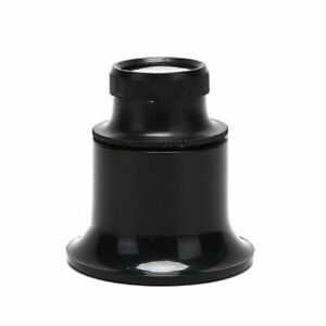 20X JEWELLERS MONOCLE LOUPE LOOP MAGNIFYING EYE GLASS FOR WATCH JEWELLERY REPAIR