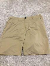 Fox Bike Mens Tan Beige Biking Shorts size 38