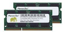 16GB Kit 2x8GB DDR3 PC3-12800 SODIMM Macbook Pro 2012 Mac Mini 2012 iMac 2012