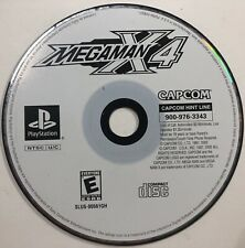 MegaMan X4 - PS1 - DISC ONLY - Mega Man - Game Only - Sony Playstation 1