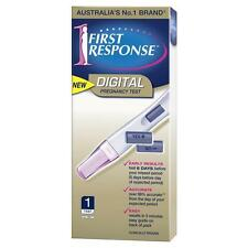 * FIRST RESPONSE DIGITAL PREGNANCY TEST 1 PACK FIRST TO DETECT OVER 99% ACCURATE