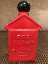 Vintage Avon Fire Alarm Box Spicy After Shave 4 oz (full) Decanter