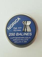 Lote 5 cajas balines marca NORICA Calibre 4.5 mm. Modelo Match