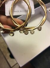 Gold Hoop Earrings for Women Fashion Jewelry A Pair/set