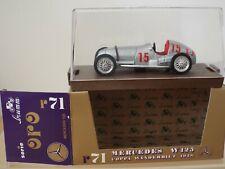 1/43 Scale Brumm Oro Diecast R71 Mercedes W125 Coppa Wanderbilt 1938, MINT Model