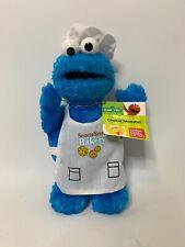 "Gund - Sesame Street - Cookie Monster - Plush Toy - Bakery Chef 8"" Nwt"