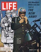 ORIGINAL Vintage Life Magazine February 5 1971 The New Army