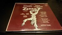Zorba Vinyl Record LP - Original Broadway Cast - 1969